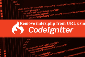 How to remove index.php from URL in Codeigniter