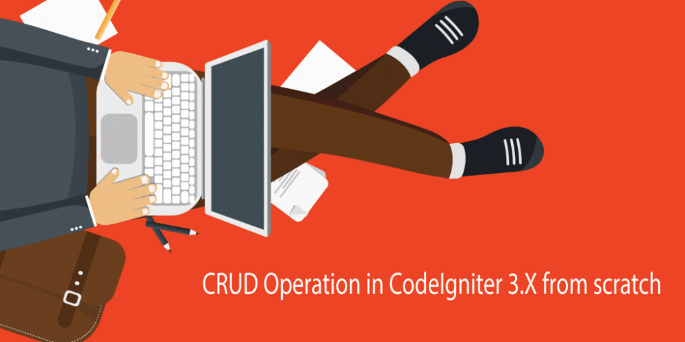 CRUD Operation in CodeIgniter 3 X from scratch | shakzee