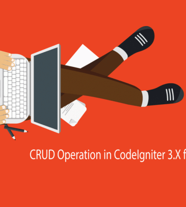 CRUD Operation in CodeIgniter 3.X from scratch