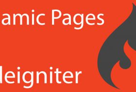 Create dynamic pages in Codeigniter like WordPress